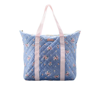 "GreenGate Tasche ""Nicoline dusty blue"" groß"