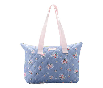 "GreenGate Tasche ""Nicoline dusty blue"" klein"