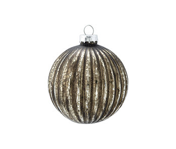 "GreenGate Baumkugel ""Adele black"" hanging"