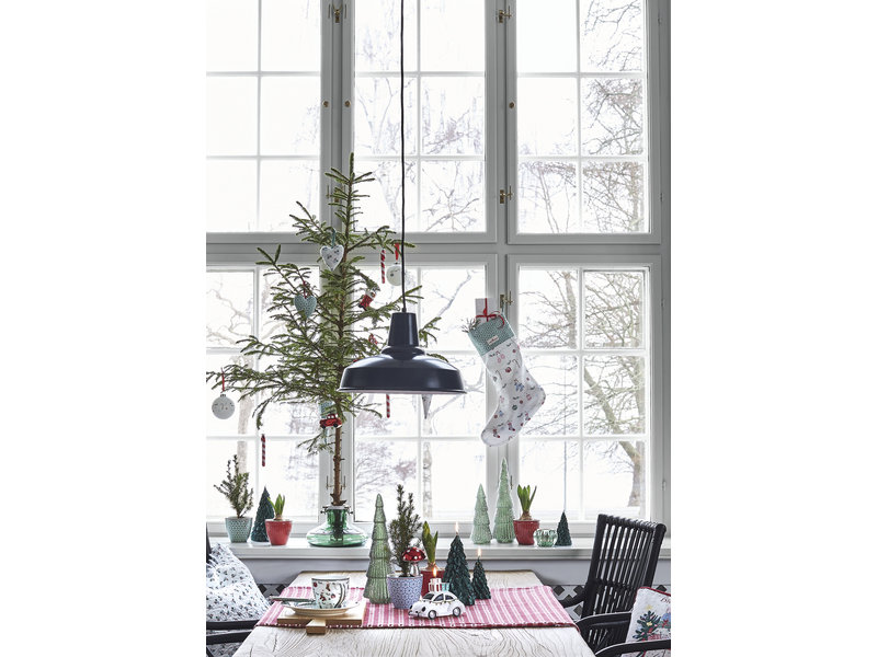 "GreenGate Baumkugel ""Aurelia warm grey"" hanging"