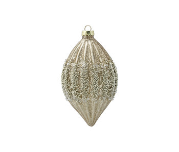 "GreenGate Baumschmuck ""Cone glass Aurelia antique"" hanging"