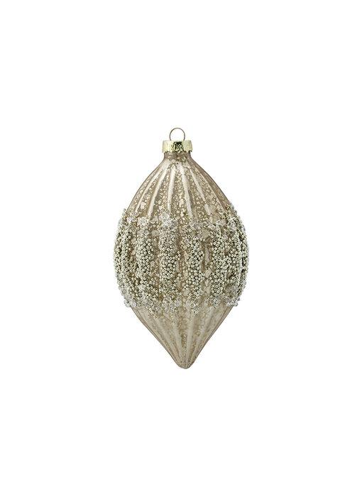 "GreenGate Baumschmuck ""Cone glass Aurelia antique"" hanging"