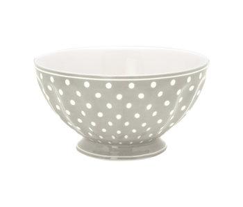 "GreenGate French bowl xlarge ""Spot grey"""