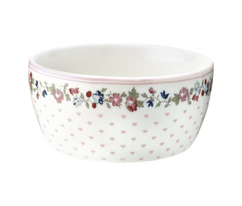 "GreenGate Kinderschüssel ""Kids bowl Ruby"" petit white"