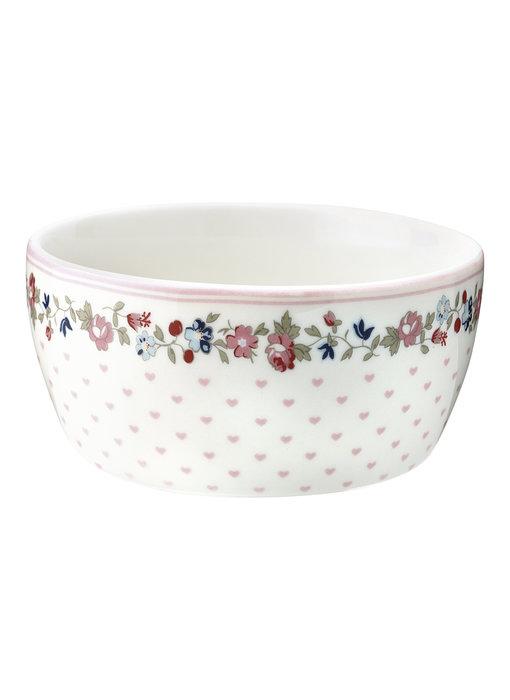 "GreenGate Kinderschüssel ""Kids bowl Ruby"" petit white"