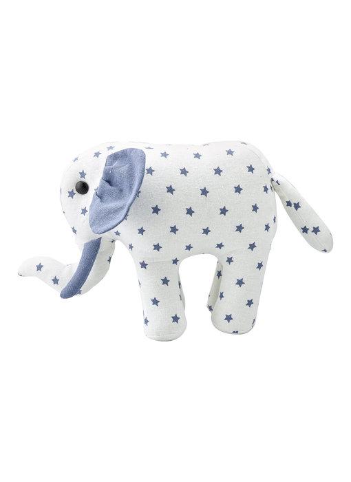 "GreenGate Teddy Elefant ""Noah white"" small"