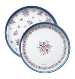 "GreenGate Tablett Set ""Nicoline white"" 2 Stk."