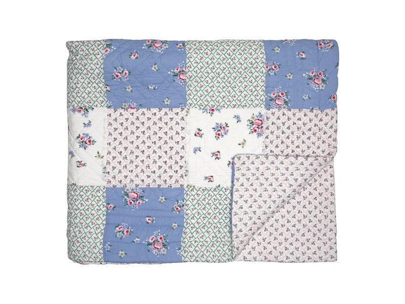 "GreenGate Quilt ""Nicoline white patchwork"" 180x240cm"
