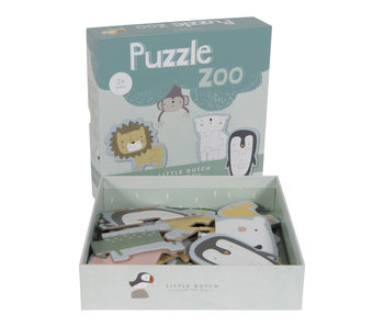 "Little Dutch Tier Puzzle "" Zoo"" 6 Tiere"