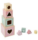 """Little Dutch Holz """"Stapelturm"""" pink"""