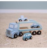 """Little Dutch """"Auto-Transporter"""" mint"""