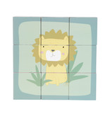 "Little Dutch Holzwürfel-Puzzle "" Zoo"" 6 Tiere"