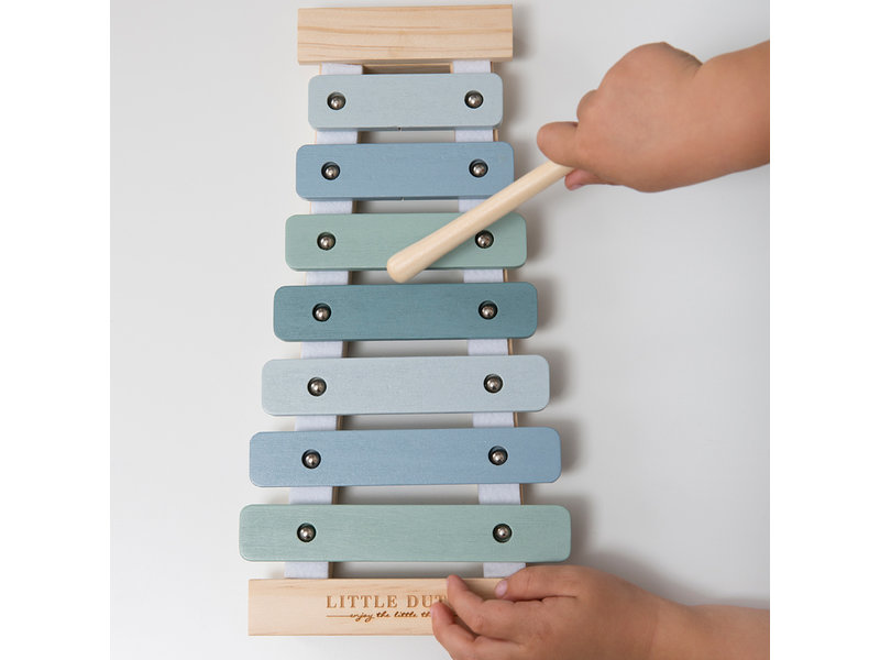 "Little Dutch Holz ""Xylophon"" blau"