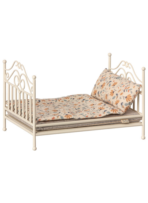 "Maileg Mäuse Bett ""Vintage bed"" Micro, Soft sand"