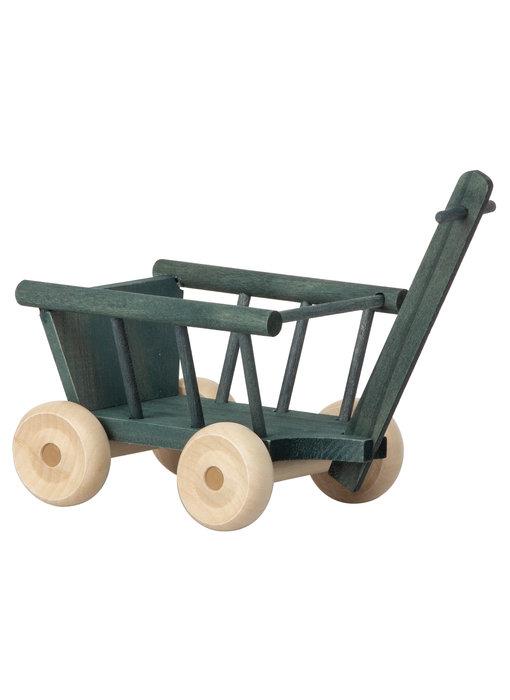 Maileg Mäuse  Leiterwagen, petrol