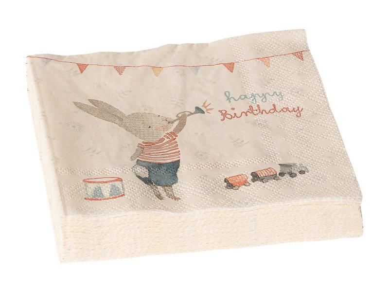 """Maileg Geburtstag-Servietten """"Happy Day"""""""