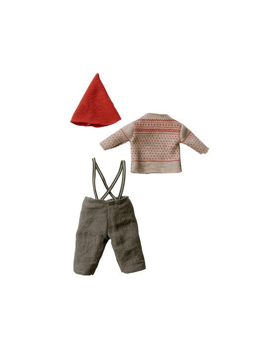 """Maileg Weihnachts Kleidung """"Maus Boy"""" medium"""