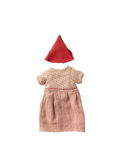 """Maileg Weihnachts Kleidung """"Maus Girl"""" medium"""