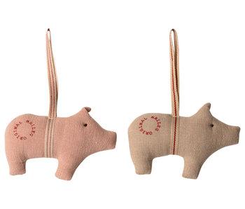 Maileg Schwein Anhänger (2 Stk.)