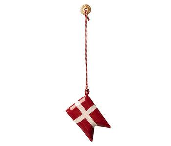 Maileg Dänische Flagge Anhänger