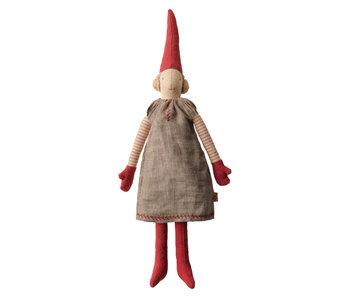 """Maileg Wichtel Mädchen """"Pixy Mini"""" Kleid grau, 2019"""