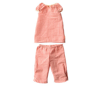 "Maileg Hasen Schlafanzug 2-teilig ""Pyjama"" Größe 4"