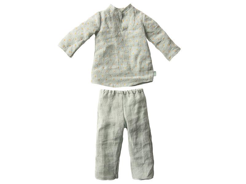 """Maileg Hasen Schlafanzug """"Pyjama"""" Größe 3"""