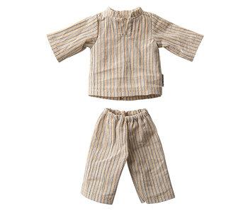 """Maileg Hasen Schlafanzug """"Pyjama"""" Größe 2"""