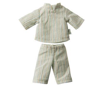 """Maileg Hasen Schlafanzug """"Pyjama"""" Größe 1"""