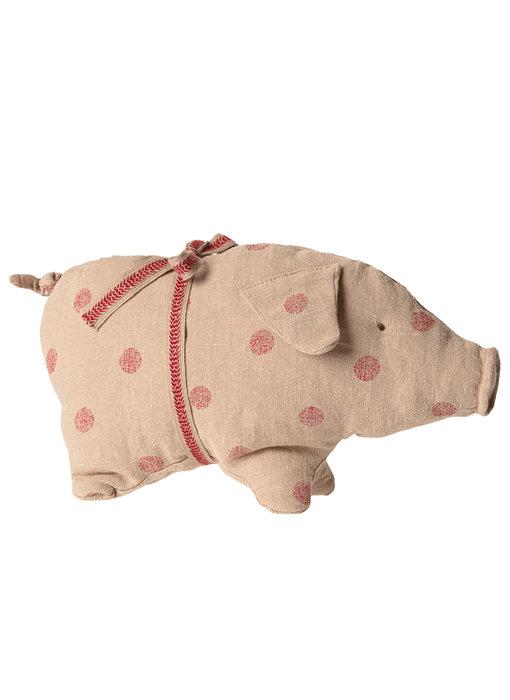 """Maileg Schwein """"Pig"""" Small mit Punkten"""