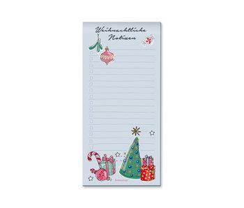 krima & isa Notizblock Weihnachten