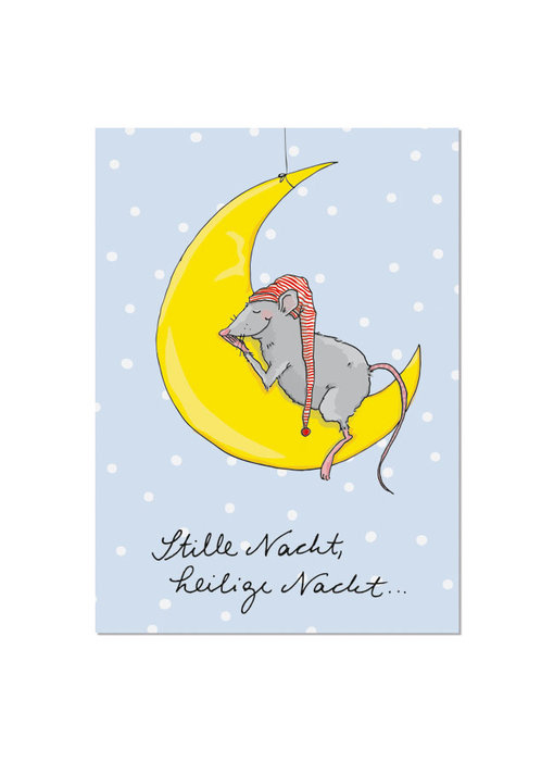 "krima & isa Postkarte ""Stille Nacht"""