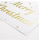 "krima & isa Postkarte ""Christmas"" Gold"