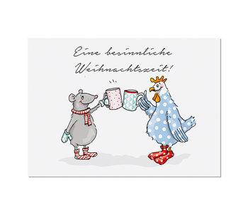 "krima & isa Postkarte ""Glühwein"""