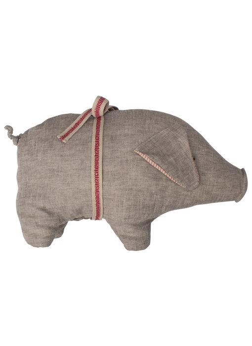 "Maileg Schwein ""Pig"" medium grau NEU"