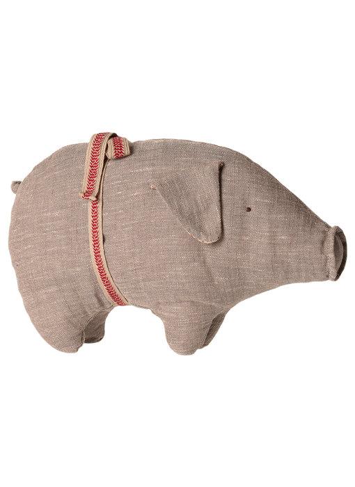 "Maileg Schwein ""Pig"" Small grau NEU"
