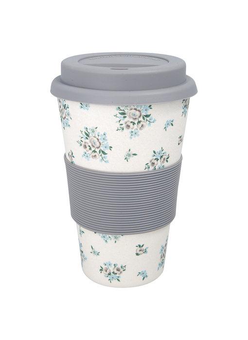"GreenGate Thermosbecher ""Travel mug Nicoline beige"""