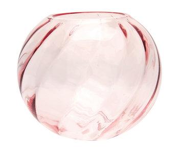 "GreenGate ""Vase round pale pink"""