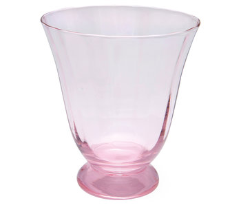 "GreenGate Eisbecher ""Water round foot"" pink"
