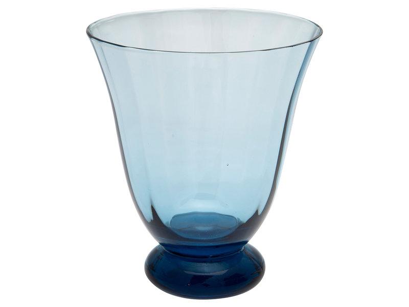 "GreenGate Eisbecher ""Water round foot"" blue"