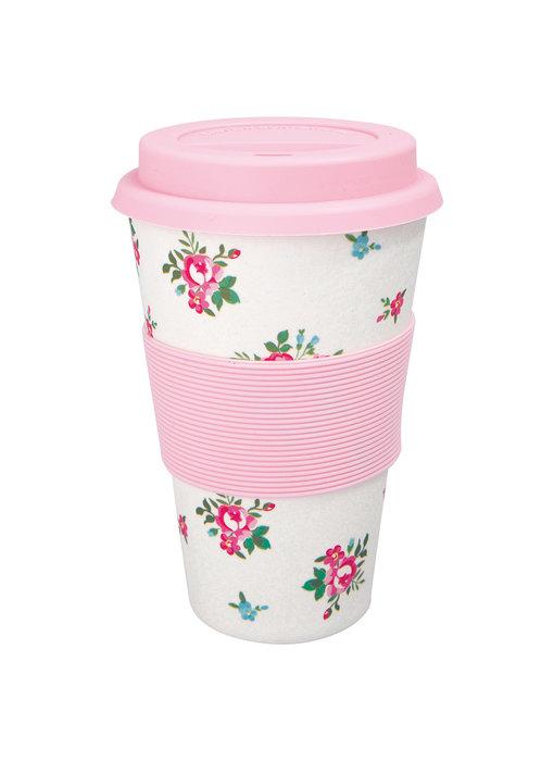 "GreenGate Thermosbecher ""Travel mug Constance white"""