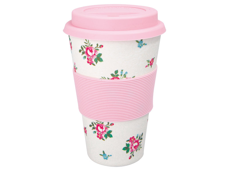 "GreenGate Thermosbecher ""Travel mug Constance white"""