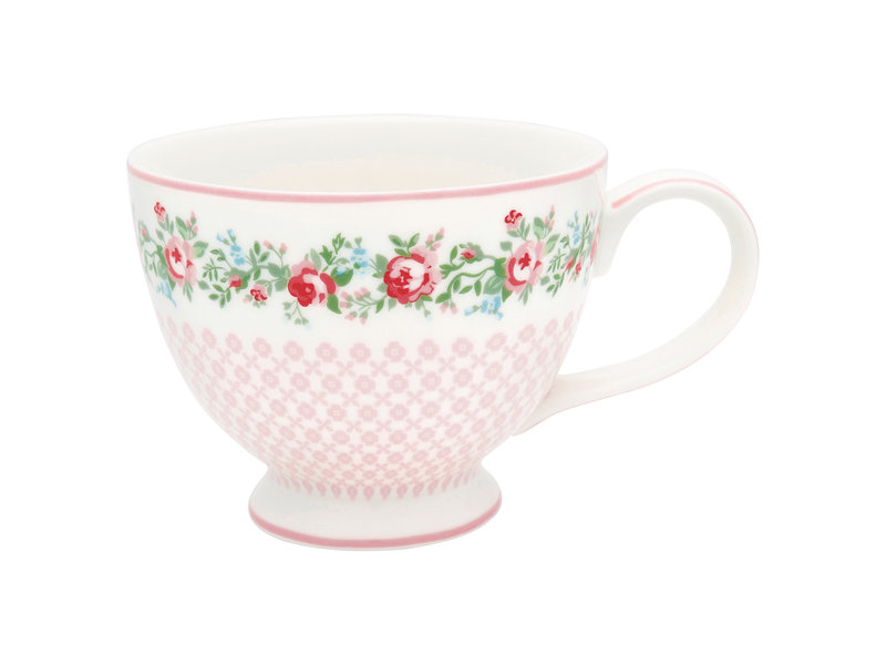 "GreenGate Teacup ""Gabby white"""