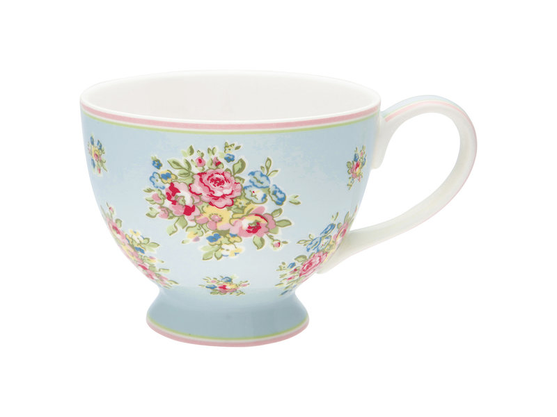 "GreenGate Teacup ""Franka pale blue"""