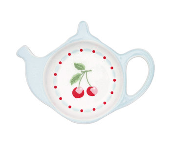 "GreenGate Teebeutelablage ""Cherie white"" Teabag holder"