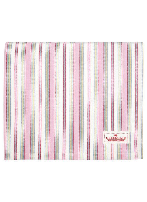 "GreenGate Tischtuch ""Imke pale pink"" 130x170cm"