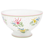 "GreenGate Suppenschale ""Soup bowl Mira white"""