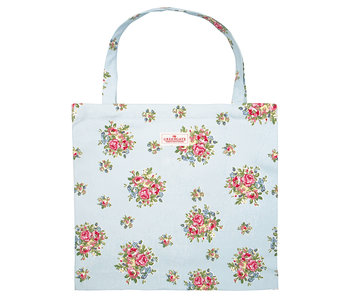 "GreenGate Tasche Shopper ""Franka pale blue"" Baumwolle"