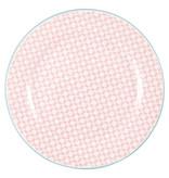 """GreenGate Frühstücksteller """"Helle pale pink"""""""