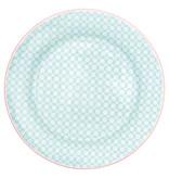 """GreenGate Frühstücksteller """"Helle pale blue"""""""
